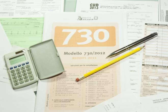Modello detrazioni elegant modulo per la richiesta di for Differenza tra 730 e unico