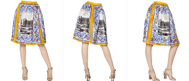 design innovativo c4906 a1a80 Trasformare un foulard in una gonna e in un pantalone ...