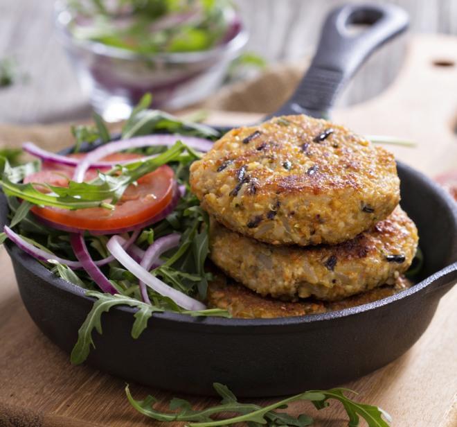 cucinare con i legumi hamburger ceci fagioli lenticchie