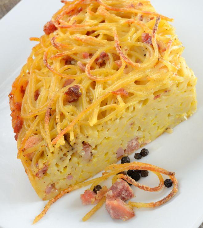 cucina-degli-avanzi-frittata-di-pasta-risparmiare