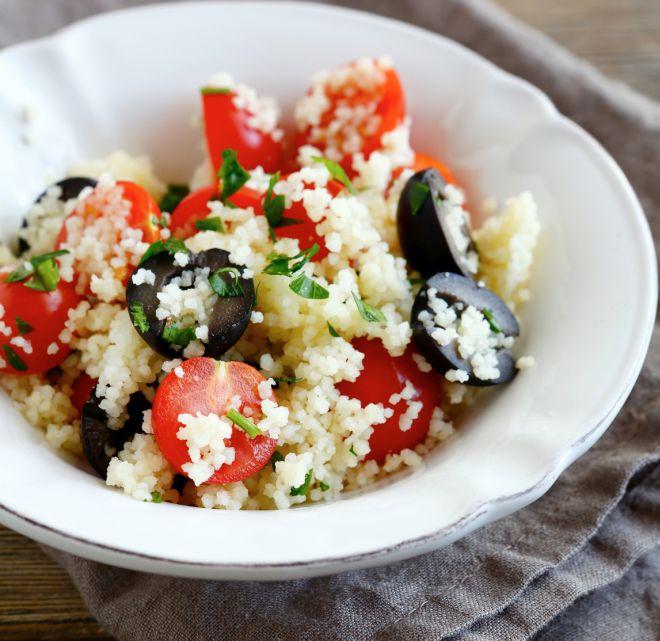 primi-piatti-veloci-couscous-pomodorini-olive