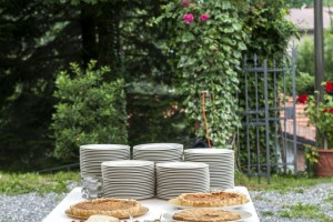 Buffet di matrimonio fatto in casa