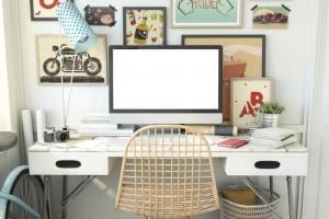 Lavorare da casa: creare una postazione di lavoro ergonomica