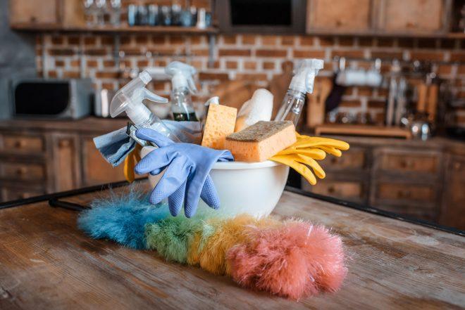 pulire casa fare le pulizie e riordinare in poco tempo e