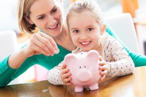 Risparmiare per i figli