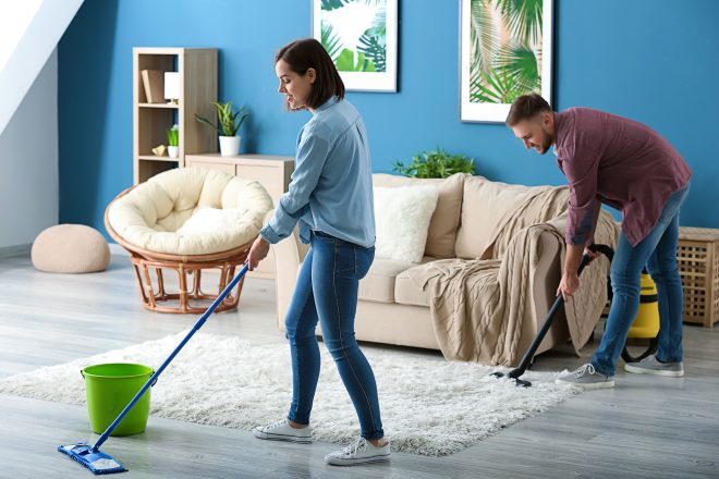 Come pulire casa in 15 minuti